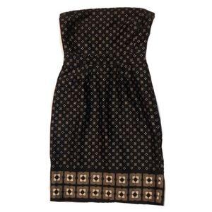 Banana Republic Black Strapless Dress. Size 6